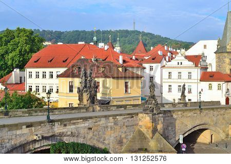 Prague Czech Republic. Beautiful architecture of the Old Town