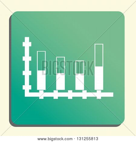 Stacked Chart Icon In Vector Format. Premium Quality Stacked Chart Symbol. Web Graphic Stacked Chart