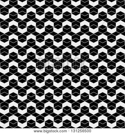 Chevrons pattern minimal monochrome simple background retro vintage design