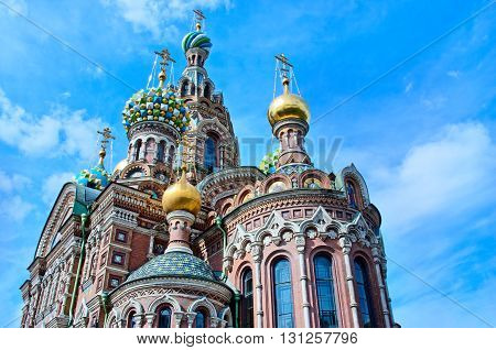 Church Of The Saviour On Spilled Blood (spas Na Krovi), St. Petersburg, Russia