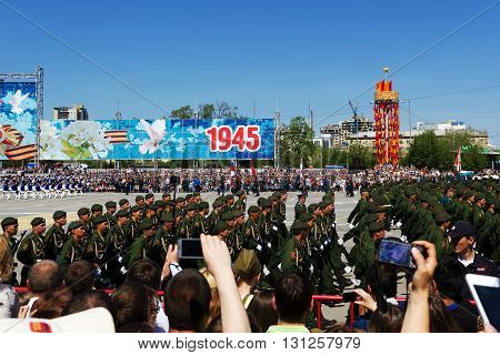 Parade On May 9