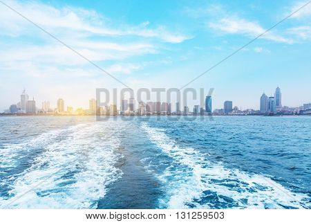 seaside city, qingdao