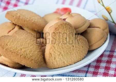 вкусное домашнее Песочное печенье к чаю и кофе
