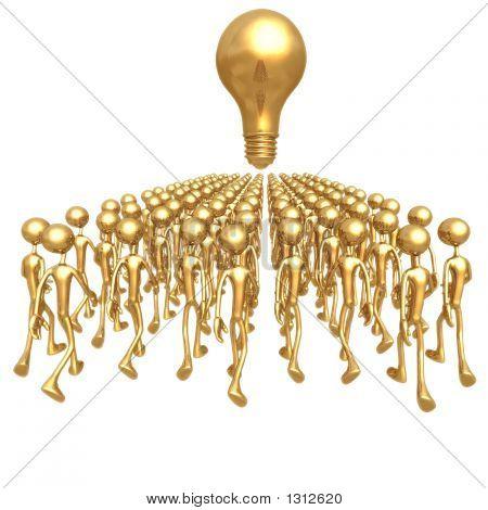 March Towards An Idea