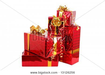 Christmas tree decorations (Santa gifts)