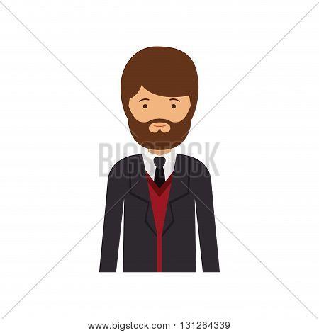 executive man design, vector illustration eps10 graphic