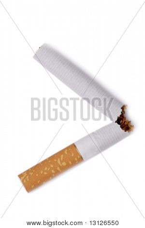 Anti-smoking campaign design: cigarette butt
