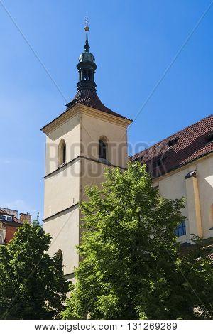 Church of St. Hastal. Prague. Czech Republic