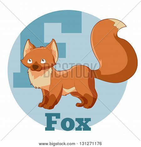 Vector image of the ABC ABC Cartoon Fox3