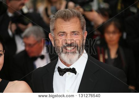 Mel Gibson   attends the Closing Ceremony of the 69th annual Cannes Film Festival at the Palais des Festivals on May 22, 2016 in Cannes, France.