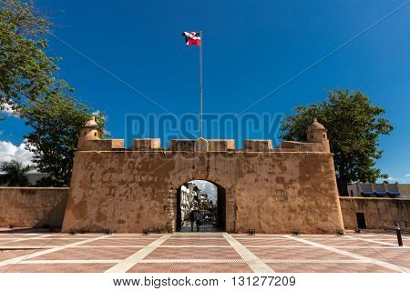 Independence Park in Santo Domingo, Dominican Republic