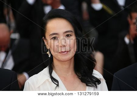 Naomi Kawase attends the Closing Ceremony of the 69th annual Cannes Film Festival at the Palais des Festivals on May 22, 2016 in Cannes, France.