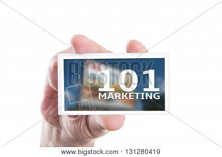 101 Marketing Concept
