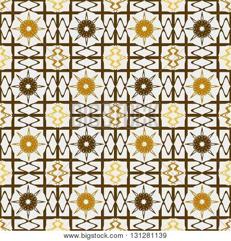 Background vector illustration seamless pattern abstract decorative grille.