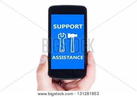Support And Assistance Concept