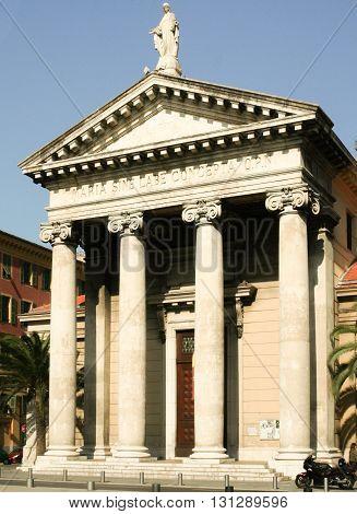 Church Maria Sine Labe Concepta Nice Cote DAzur France
