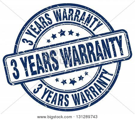 3 years warranty blue grunge round vintage rubber stamp.3 years warranty stamp.3 years warranty round stamp.3 years warranty grunge stamp.3 years warranty.3 years warranty vintage stamp.