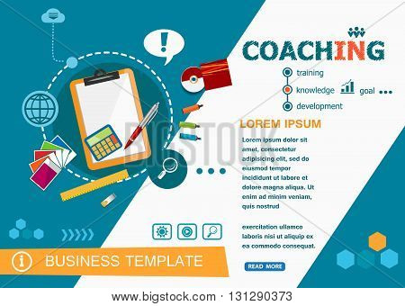 Coaching Concepts Of Words Learning And Training.