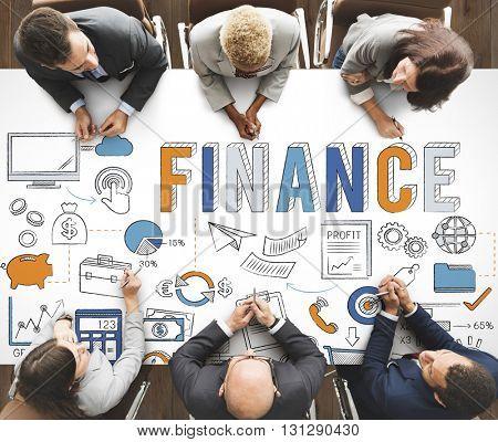 Finance Profit Investment Revenue Concept