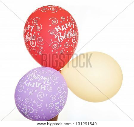 3 Colour Balloons