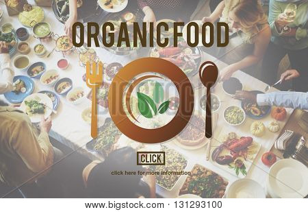 Organic Food Nutrition Healthy Diet Concept
