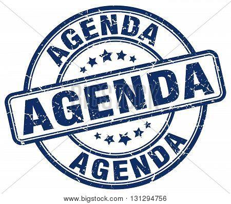 agenda blue grunge round vintage rubber stamp.agenda stamp.agenda round stamp.agenda grunge stamp.agenda.agenda vintage stamp.