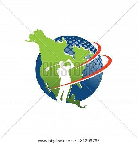 Logo Symbol of World Golf Master Championship