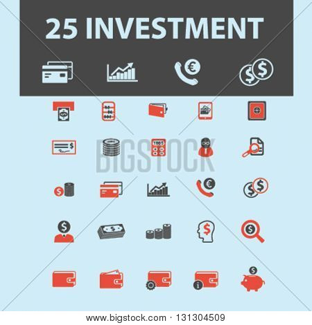 investment icons