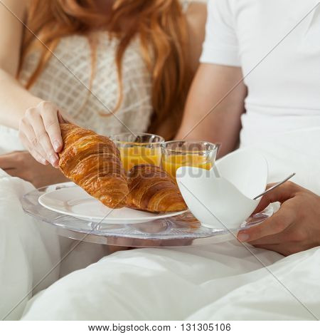 Common Breakfast In Bed
