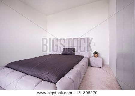 Bedroom With Big Comfortable Bed