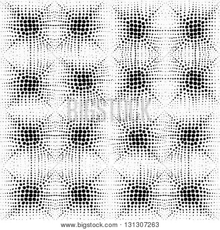 Comic hand drawn background. Round template for card Manga or anime graphic texture. Superhero frame. Comic texture.