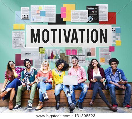Motivation Encourage Goal Hopeful Inspiration Concept