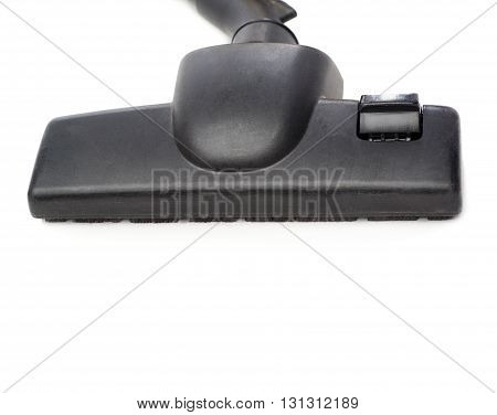 Part of home Vacuum cleaner over isolated white background