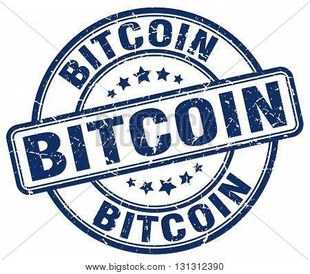 bitcoin blue grunge round vintage rubber stamp.bitcoin stamp.bitcoin round stamp.bitcoin grunge stamp.bitcoin.bitcoin vintage stamp.