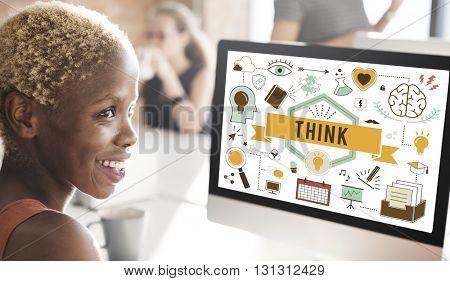 Think Inspiration Motivation Thinking Concept
