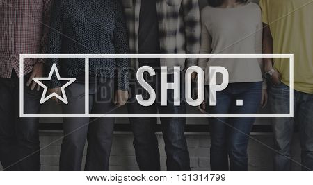 Shop Shopping Spending Store Buying Commerce Concept