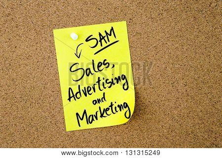 Business Acronym Sam Sales, Advertising And Marketing