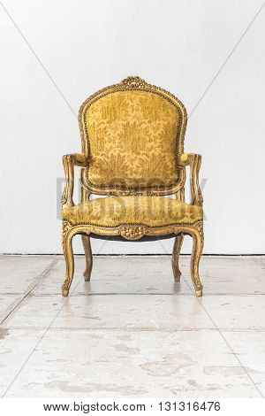 Classic Chair Style In Vintage Room