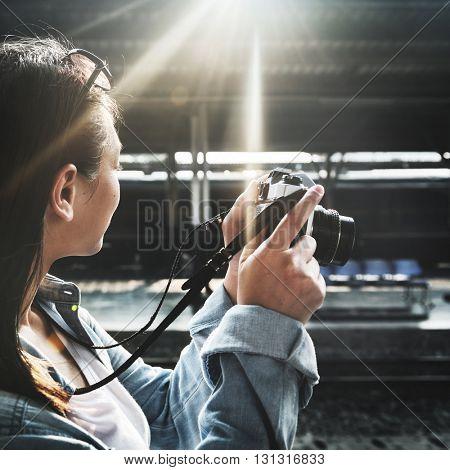 Adventure Photograph Camera Leisure Activity Concept