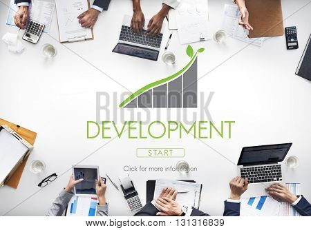 Development Change Growth Learning Success Concept