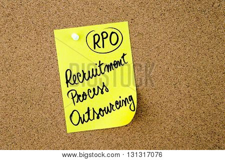 Business Acronym Rpo Recruitment Process Outsourcing