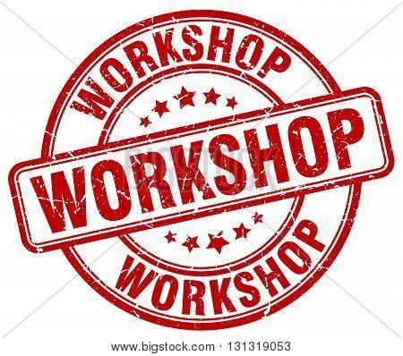 workshop red grunge round vintage rubber stamp.workshop stamp.workshop round stamp.workshop grunge stamp.workshop.workshop vintage stamp.