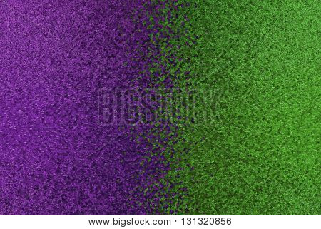 Purple and green pixel abstract background.Digitally generated image.