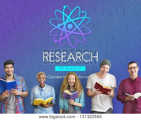 Research Discovery Education Information Concept