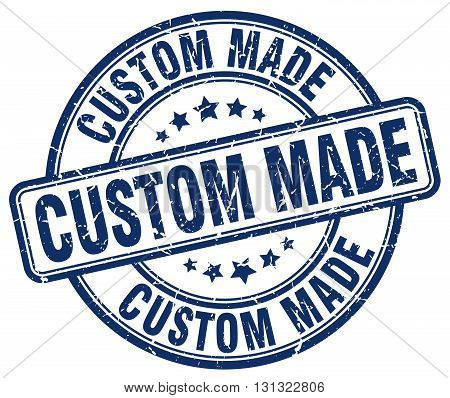 custom made blue grunge round vintage rubber stamp.custom made stamp.custom made round stamp.custom made grunge stamp.custom made.custom made vintage stamp.