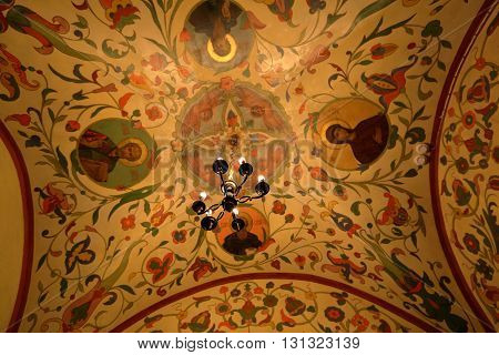St. Basil's Cathedral Interior. Moscow, Russia
