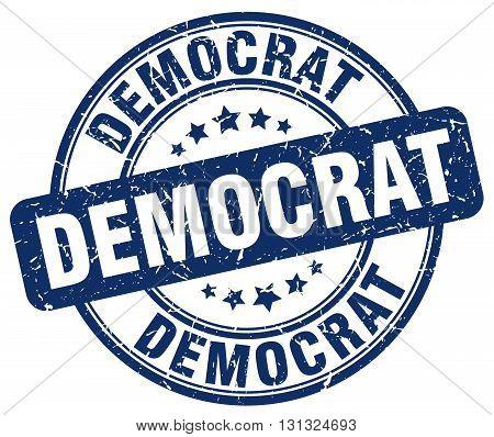 democrat blue grunge round vintage rubber stamp.democrat stamp.democrat round stamp.democrat grunge stamp.democrat.democrat vintage stamp.