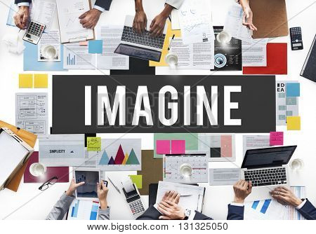 Imagine Imagination Creative Dream Thinking Concept