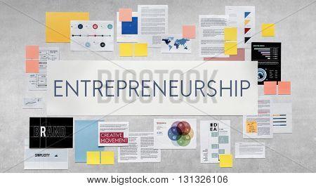 Entrepreneur Enterpreneurer Dealer Employee Concept