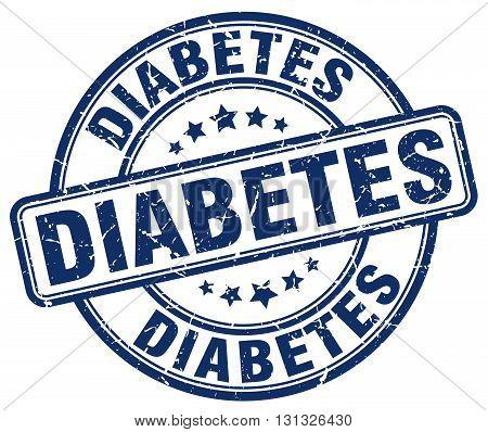 diabetes blue grunge round vintage rubber stamp.diabetes stamp.diabetes round stamp.diabetes grunge stamp.diabetes.diabetes vintage stamp.